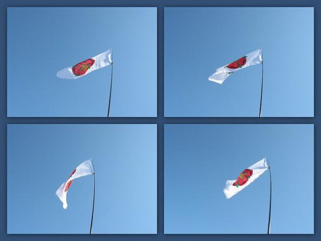 The Lancashire Flag will fly on Thursday 27 Novembera