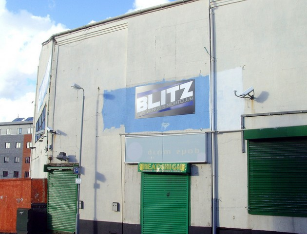 Blitz nightclub on Great Shaw Street