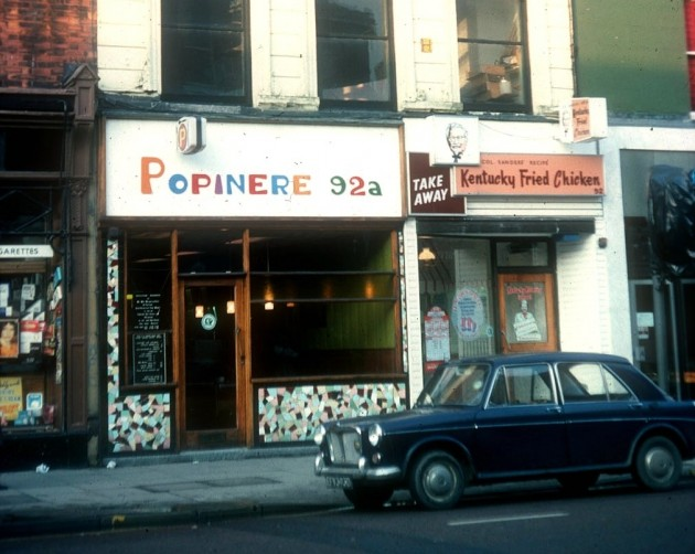 Popinere & Kentucky Fried Chicken, Preston 1976
