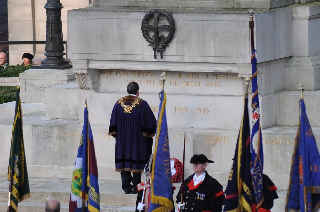 Remembrance Ceremony Preston 9 November 2014 - 07