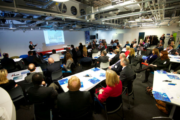 UCLan alumni and figures from the engineering sector in the North West were invited to a launch event