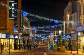 Paul Melling snapped the Fishergate lights on Sunday