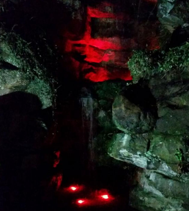 You can control the lights on the grotto yourself with the new control panel Pic: Peter Kelly