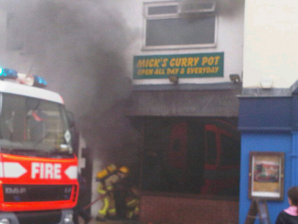 A malfunction with a deep fat fryer caused the blaze in 2010