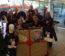 Staff launching Mission Christmas