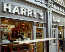 Harry's Bar is having the finishing touches put to it Pic: Tony Worrall