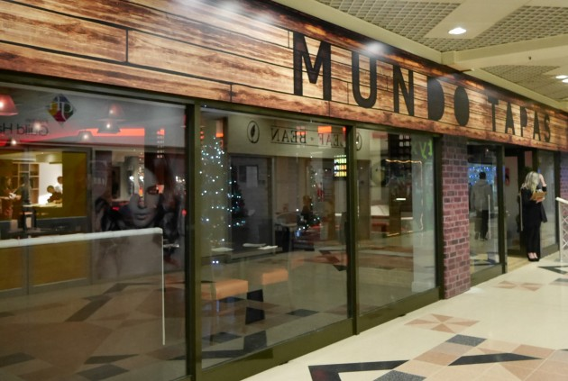 The new Mundo Tapas restaurant in the Guild Hall