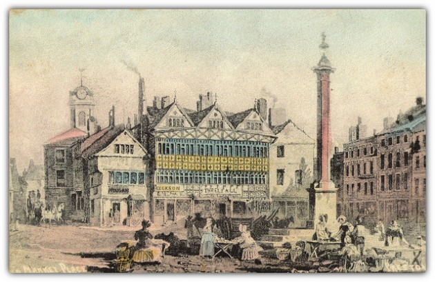 The old Market Place Pic: Preston Digital Archive