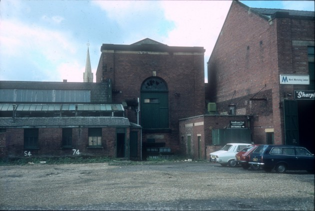 Former Engine House, Horrockses Yard Works, Preston1 c.1975