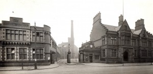 Horrockses Factory Gate, Stanley Street, Preston 1912