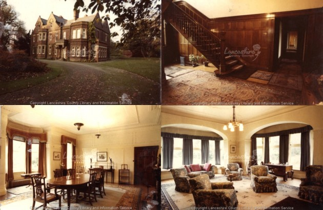 Broughton Park House as it was as a residence in 1975  Pic: courtesy of  Lancashire Lantern