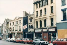Church Street south side, Preston July 1987