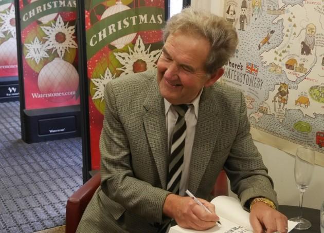 David Hindle seen at a recent book signing