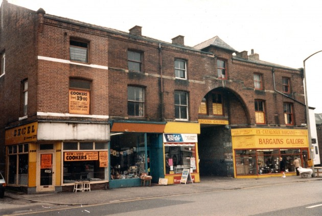 Former Mounted Constabulary Stables, Church Street south side, Preston May 1988