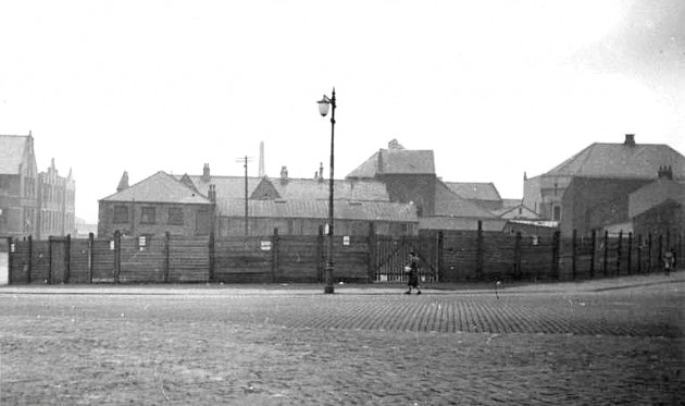 An earlier view of the site of UCLan's Foster Building 1939. Pic: Preston Digital Archive