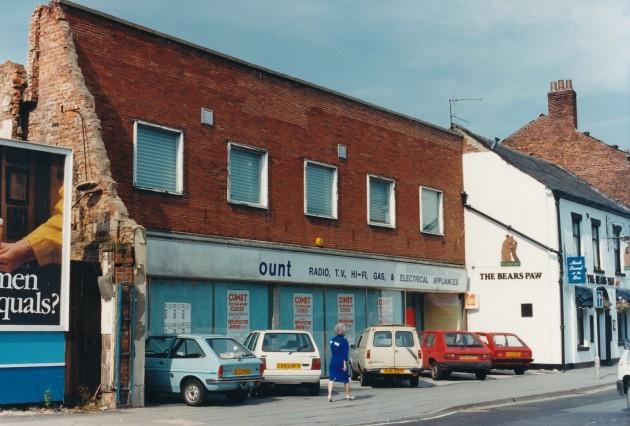 Church Street, Preston (north side) March 1988