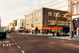 Church Street-Fishergate, Preston October 1988