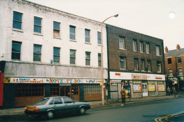 Church Street, Preston (north side) September 1987