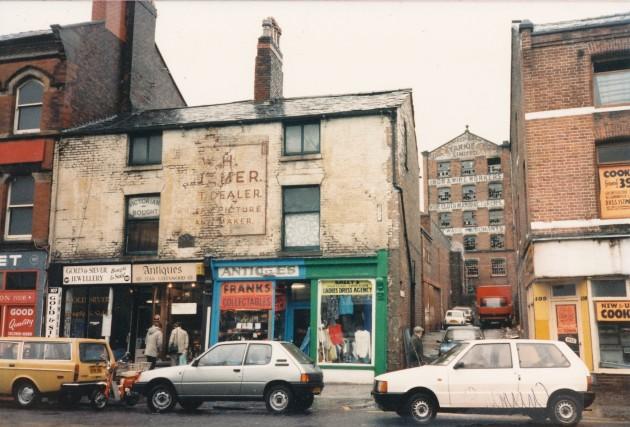 Church Street, Preston (south side) May 1987