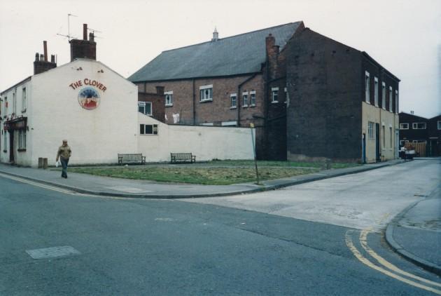 Meadow Street-Agnes Street, Preston April 1988