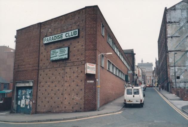 Syke Street-Avenham Street, Preston January 1988