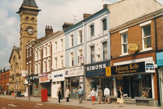 Fishergate, Preston (north side) June 1987