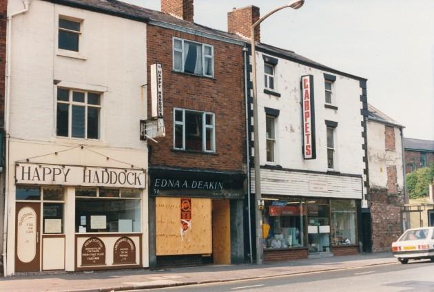 Church Street, Preston (north side) June 1988