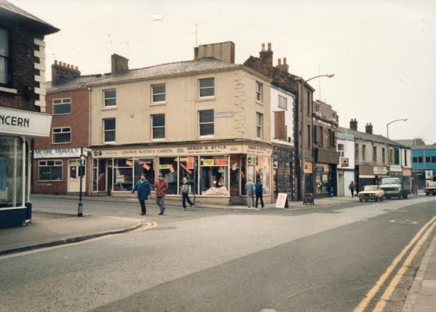 Church Street- Grimshaw Street, Preston (south side) March 1987