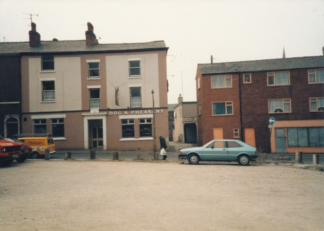 Dog & Pheasant, Grimshaw Street, Preston March 1987
