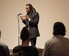 Benjamin Zephaniah ~ Image courtesy Harris Museum & Art Gallery