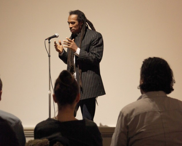 Benjamin Zephaniah ~ Image courtesy Harris Museum & Art Gallery
