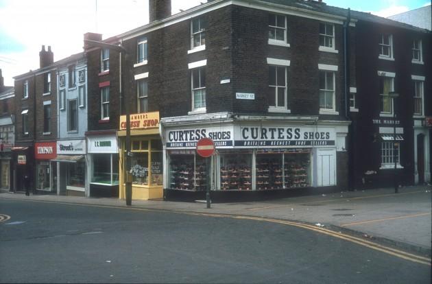 Market Street - Orchard Street, Preston 1981