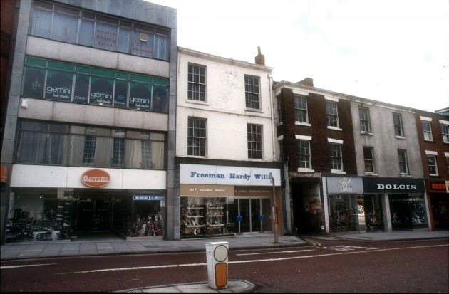 Fishergate, Preston (south side) 1984
