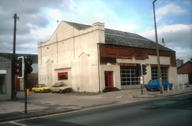 Former Lido Cinema, Marsh Lane, Preston 1989