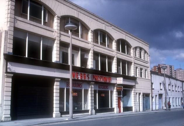 Webbs (Preston) Ltd., Lawson Street, Preston 1986