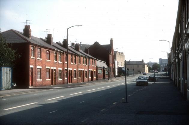 Marsh Lane (looking northward), Preston 1987