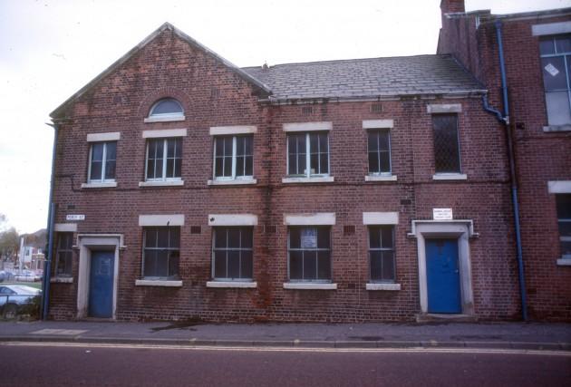 Percy Street School, Percy Street, Preston 1986