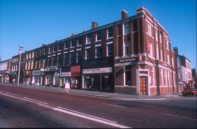 Queens Hotel, Queens Buildings, Fishergate, Preston 1983