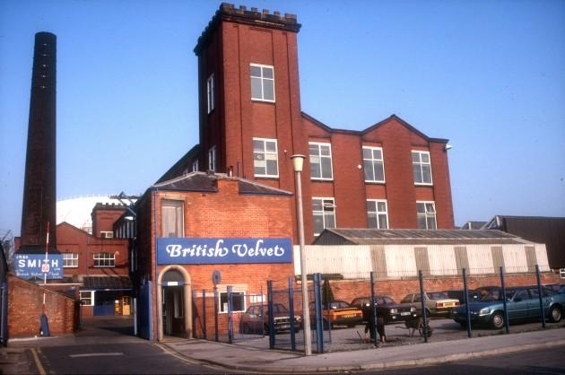 Manchester Mill (Smiths, British Velvet & Plush Company), Mosley Street, Preston 1985
