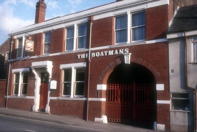 The Boatmans, Marsh Lane, Preston 1987