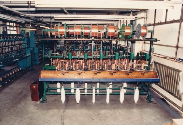 Gold Thread Works machinery in Avenham Road