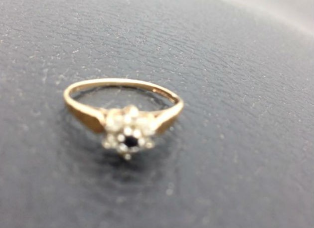 The diamond ring found in Deepdale