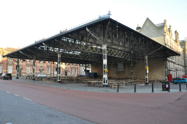 The former Fish Market is the smaller of the two Victorian Markets