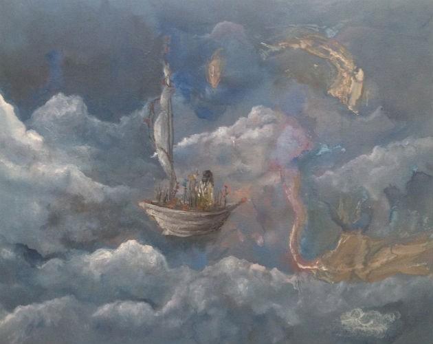 A piece of Milda's artwork