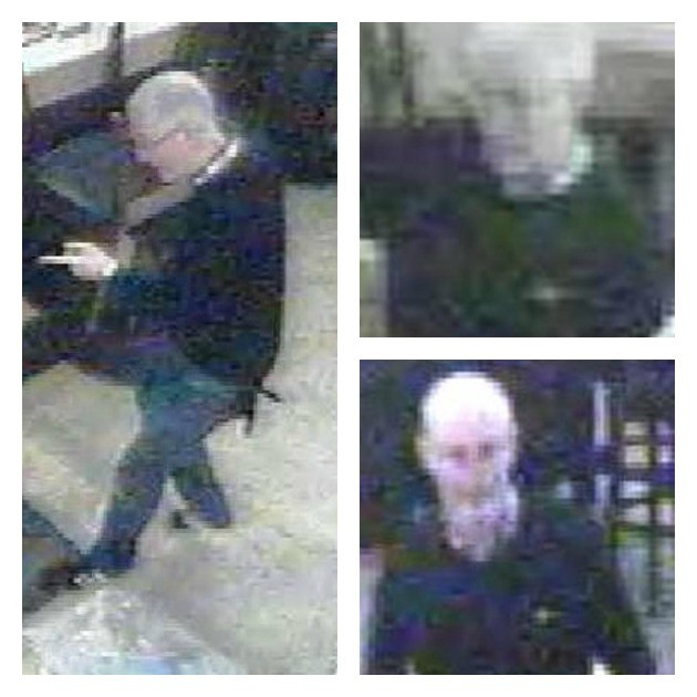 CCTV pictures of a man police want to speak to about the Preston Station incidentCCTV pictures of a man police want to speak to about the Preston Station incident