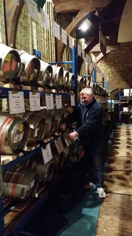 Preparations for this year's Preston Beer Festival.