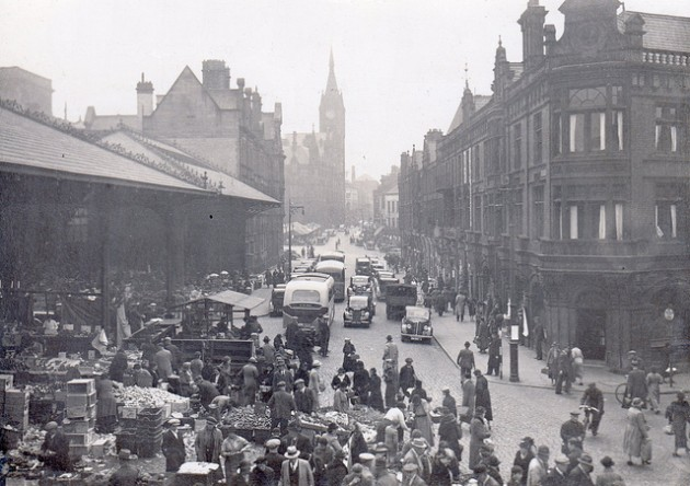 Market Street in 1940 Pic: Preston Digital Archive