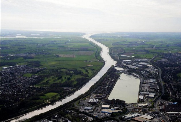 The River Ribble and Preston Docks