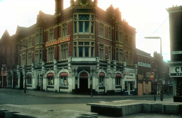 The Jolly Farmer (Formerly The Farmers Arms), Market Street, Preston, 1980