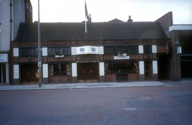 Grey Horse Pub, Church Street (south side), Preston, 1986